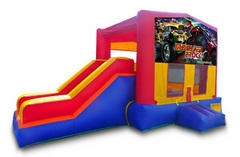 Monster Truck Playtime Jump and Side Slide - Medium