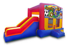 Sports Banner Playtime Jump and Side Slide - Medium