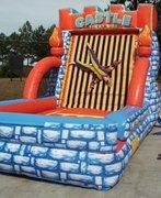 Castle Sticky Velcro Wall