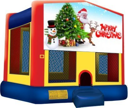 Merry Christmas Partytime Jumper - Large