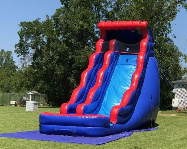 20 ft. Slide wet