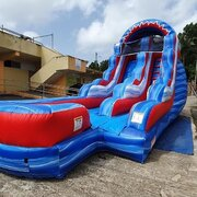 16 ft. Flash mega water slide