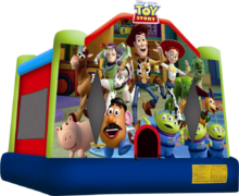 Toy Story Moonwalk Bouncer