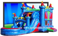 Water Palace Dual Lane Combo Waterslide