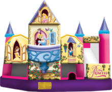 Disney Princess Combo Waterslide