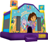 Dora Moonwalk Bouncer