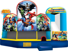 SuperHero Combo Waterslide