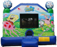 Sponge Bob Moonwalk Bouncer