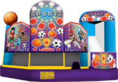 Sports 5 in 1 Combo Bouncer