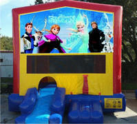 Ice Princess Bounce House