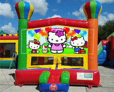 Little Kitty Balloon Bounce House