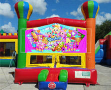 Shopkin Balloon Bounce House