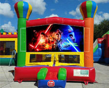 Stars Balloon Bounce House