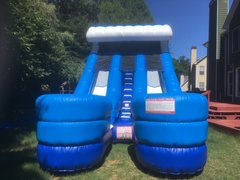 18 ft Double Lane Slide, same day drop off and pick up or 3 day rental, drop off Friday and pick up on Monday for the same one day price
