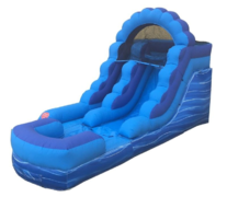 12 FT Slide, same day drop off and pick up or weekend rental, drop off Friday, pick up Monday for the same one day price