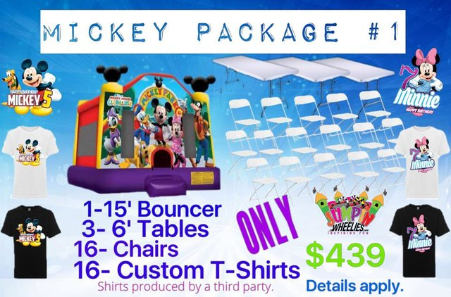 Mickey Party Package #1