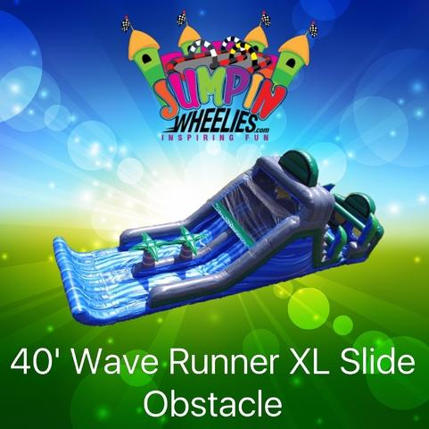 45' Wave Runner XL Slide Obstacle
