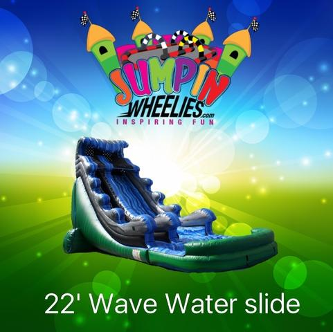 22' Water Wave Slide