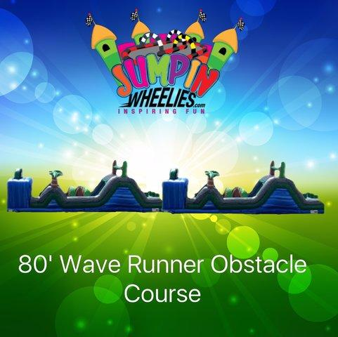 80'  Wave Runner Obstacle Course