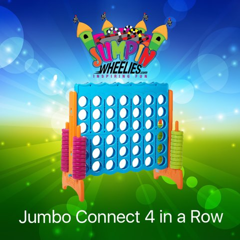Jumbo Connect 4 in a Row
