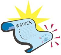 50 Printed Individual Waivers