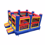 XXL Bounce House/Basketball Court