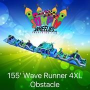 155 ft Wave 4XL Obstacle