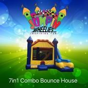7in1 Combo Bounce House