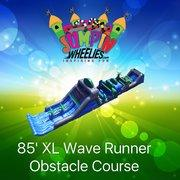 85ft  XL Wave Runner Obstacle Course