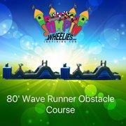 80ft  Wave Runner Obstacle Course