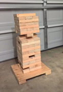 Giant Jumbling Tower Game