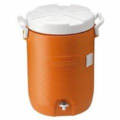 10 gal drink cooler with 10lbs ice