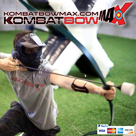 Up to 10 KombatBow Archery Tag