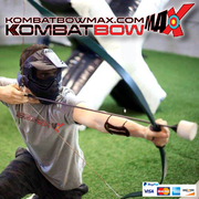 Up to 6 KombatBow Archery Tag