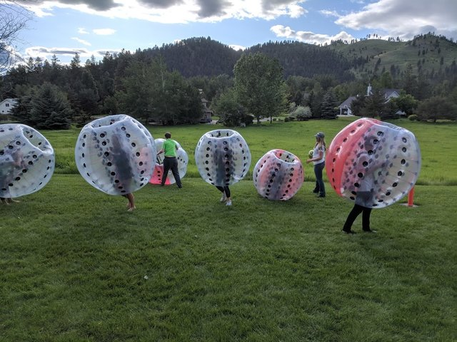 *PRICE CHANGE* 6 Knockerball Outdoor Package