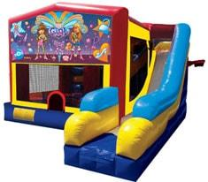 Girl Thing Bounce House Combo