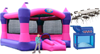 The Pink castle party package