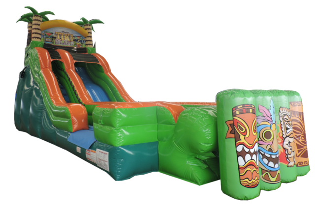 Tiki Island XL 21FT Water Slide