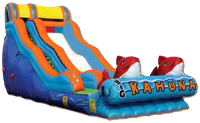 20ft Big Kahuna dry slide