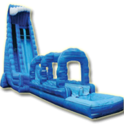28ft Blue Crush Waterslide