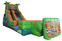 21ft Tiki Island dry slide