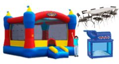 Silver Bounce House party package