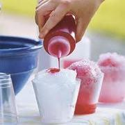 Sno Cone Syrup and cups