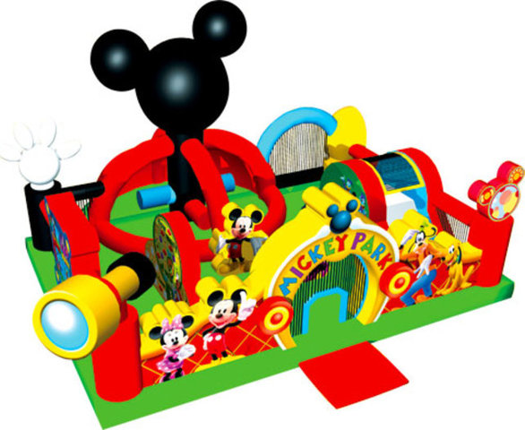Mickey Learning Center Toddler Obstacle