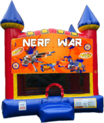 Nerf Castle Bounce House