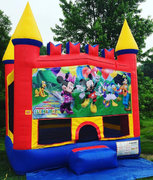 Mickey Mouse Castle Bounce House