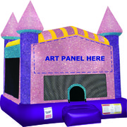 Dazzling Castle Bounce House Bundle (Sparkling)