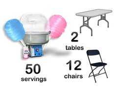 Cotton Candy 2 Tables 12 Chairs Bundle