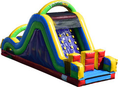 Rainbow Rush Obstacle Course