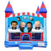 Boss Baby Blue Castle Bouncer